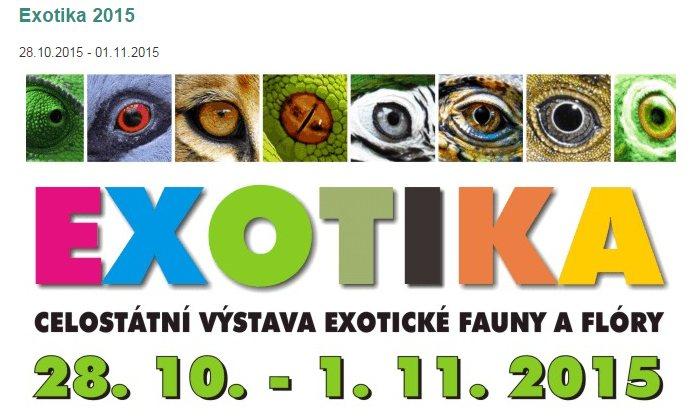 Výstava Exotika 2015 Lysá nad Labem