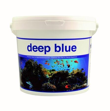 Mořská sůl Deep blue 4 kg - kbelík
