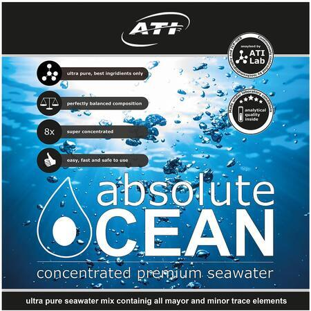 ATI absolute Ocean 2 x 10,20 L koncentrát pro přípravu 170 L mořské vody