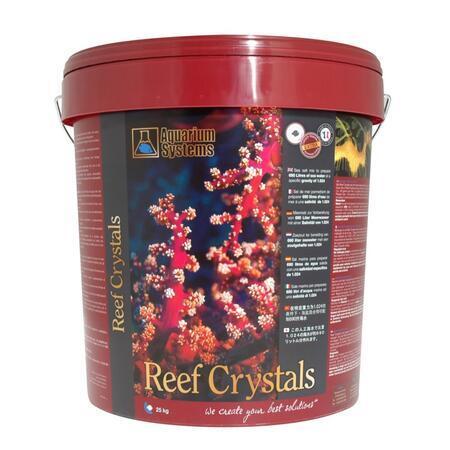 Mořská sůl REEF CRYSTALS 25 kg - 750 litrů - kbelík