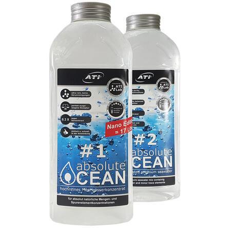 ATI absolute Ocean 2 x 1.02 L koncentrát pro přípravu 17 L mořské vody