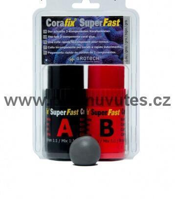 Lepidlo CoraFix SuperFast, šedý 240g