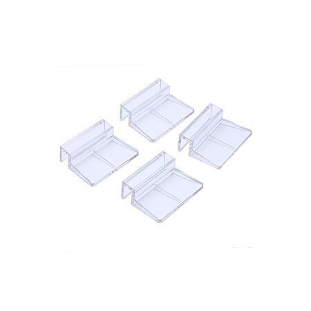 Akrylátový držák krycího skla nebo síťky 8 mm