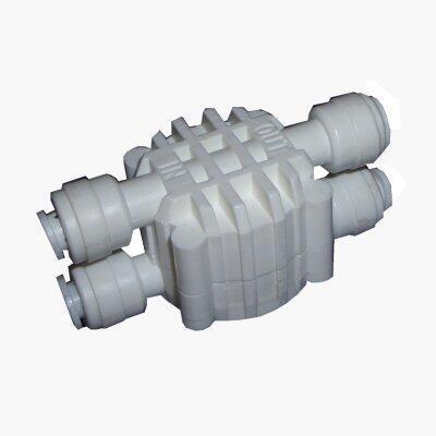 """Čtyřcestný ventil 1/4"""" pro reverzní osmozu"""