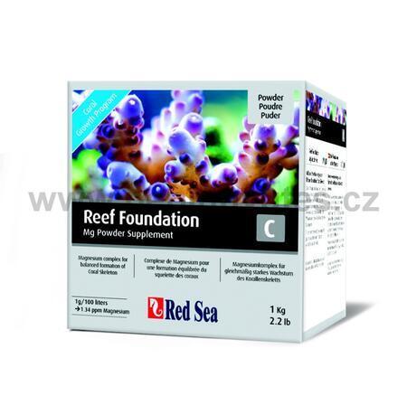 Red Sea Reef Foundation prášek 1 kg, C (Mg) - 1kg