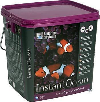 Mořská sůl INSTANT OCEAN 10 kg - 300 litrů kbelík