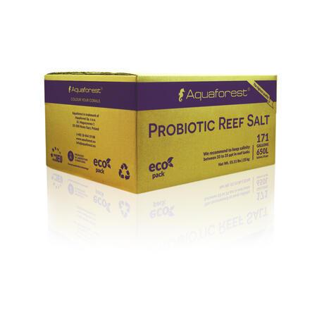 Aquaforest Probiotic Reef Salt 25 kg