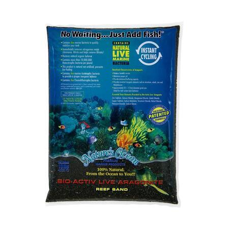Natures Ocean Black Beach Live Sand 0,5-1,5 mm 4,54 kg