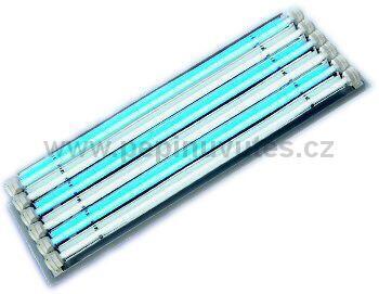 Osvětlovací rampa Lumimaster 6 x T5 s reflektory