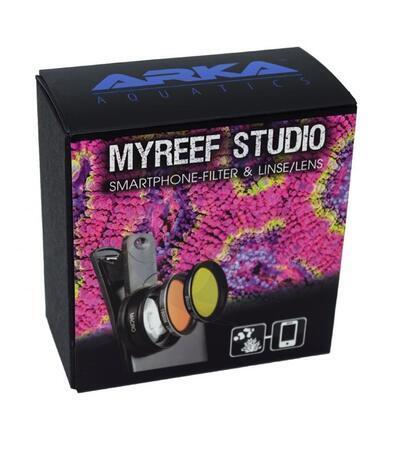 myReef Studio sada filtrů a makro čočka pro mobilní telefony a tablety