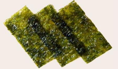 """NORI ALGAE- řasa na krmení """"Green""""  7 plátků"""