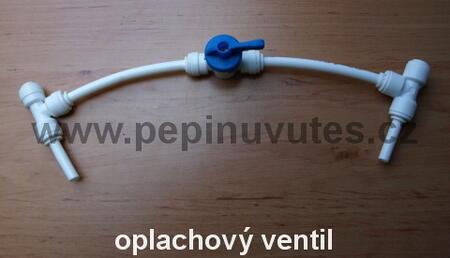 Oplachový ventil membrány pro reverzní osmózu
