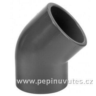 PVC-U 45° koleno 25 mm