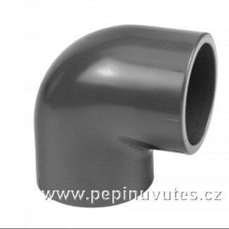 PVC-U 90° koleno 40 mm