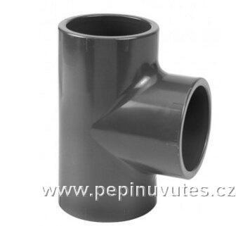 PVC-U T-kus 40 mm