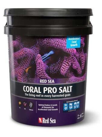 Mořská sůl Red Sea coral pro 22 kg kbelík