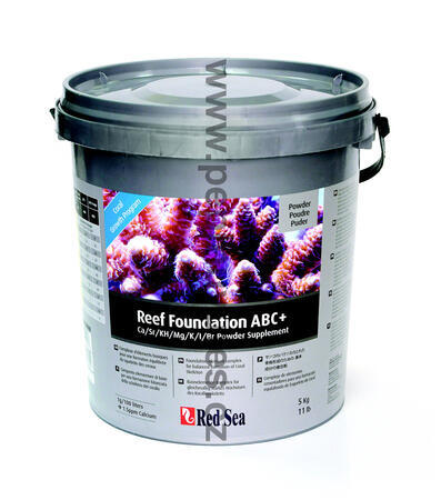 Red Sea Reef Foundation ABC+  prášek, 5000 g