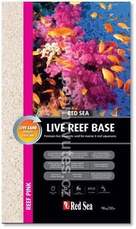Live Reef Base - Reef Pink 0,5-1,5 mm 10 kg
