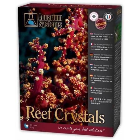 Mořská sůl REEF CRYSTALS 2 kg - 55 litrů