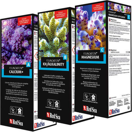Red Sea Reef Foundation SET - A+B+C (3x 500ml)