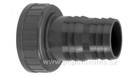 """PVC-U hadicový trn 25/27 s převlečnou maticí G1 1/4"""""""