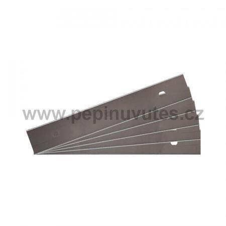 Náhradní žiletky pro velkou stěrku Aqua Medic 5 kusů