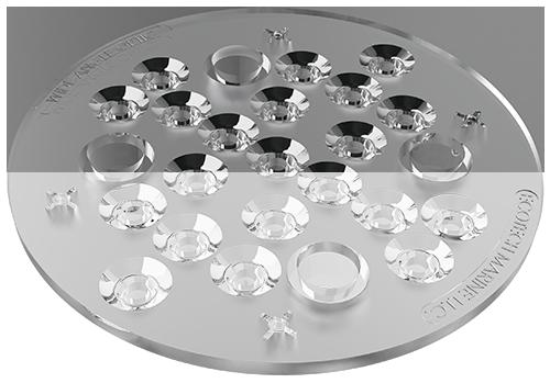 Radion Wide Angle TIR lense kit- širokoúhlé čočky 120stupňů (náhr.díl)