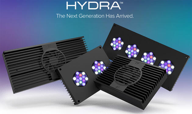 AI Hydra 26 HD - akvarijní svítidlo 26-LED (černá)