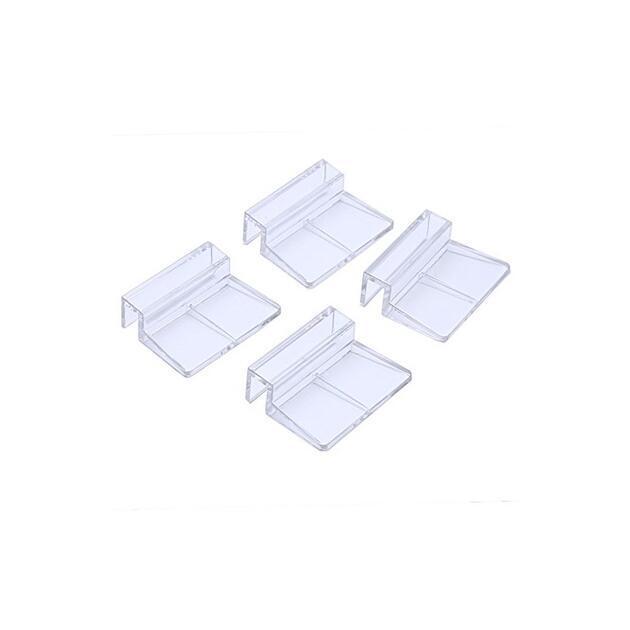 Akrylátový držák krycího skla nebo síťky 8 mm - 1