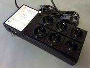 Apex Energy Bar 6 - 240V-Shuko /Modul 6 zásuvek - 1/2
