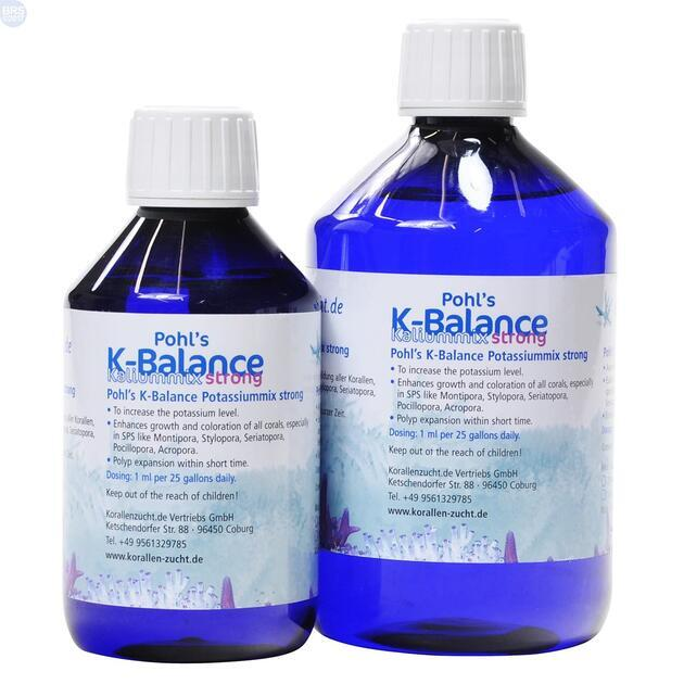 Korallenzucht Pohl's K-Balance 250 ml