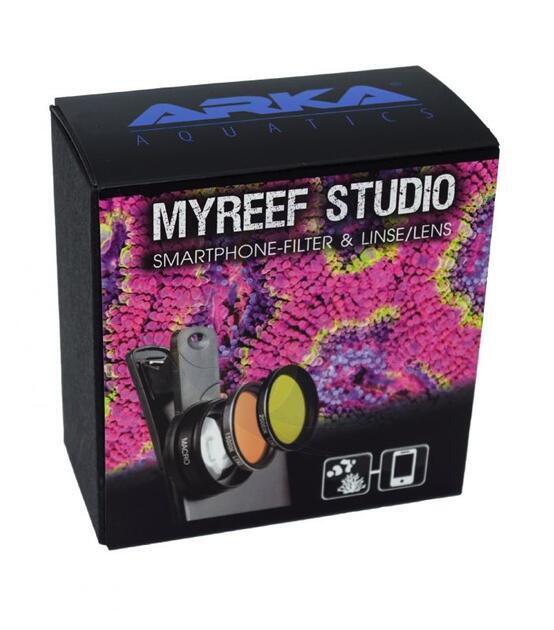 myReef Studio sada filtrů a makro čočka pro mobilní telefony a tablety - 1