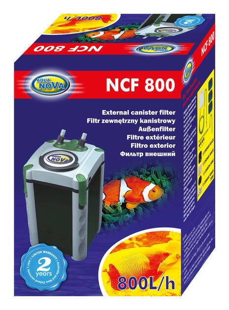 Kanystrový filtr pro akvária NCF-800