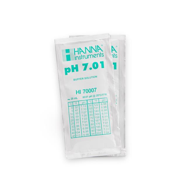 Kalibrační roztok, pH 7.01, 20 ml, sáček ph 7,01