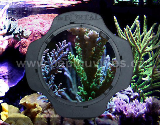 Portal Aquarium Viewer-stěrka na sklo s integrovanou lupou - 1