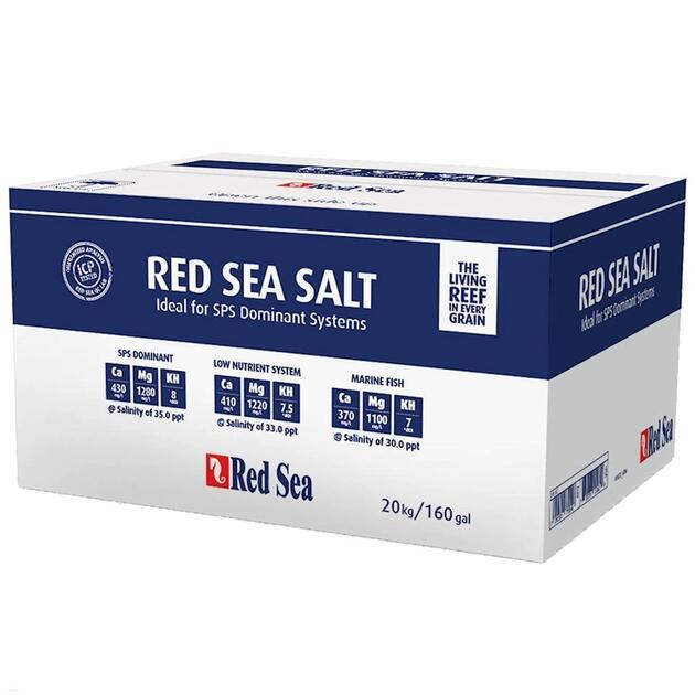 Mořská sůl Red Sea salt 20,1 kg box