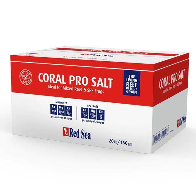 Mořská sůl Red Sea coral pro 20,1 kg box