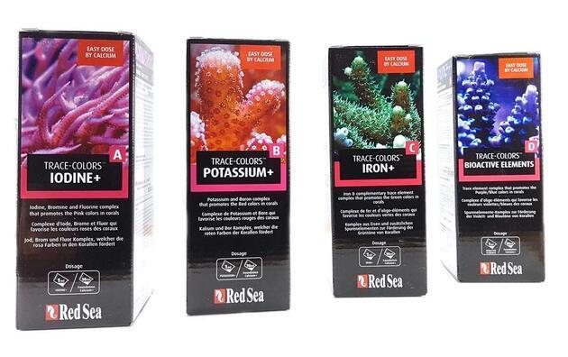 Red Sea SET - Trace-Colors A+B+C+D 4 x 500ml