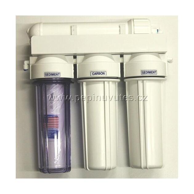 Reverzní osmóza 100 GPD PRO s oplachovým ventilem - 1