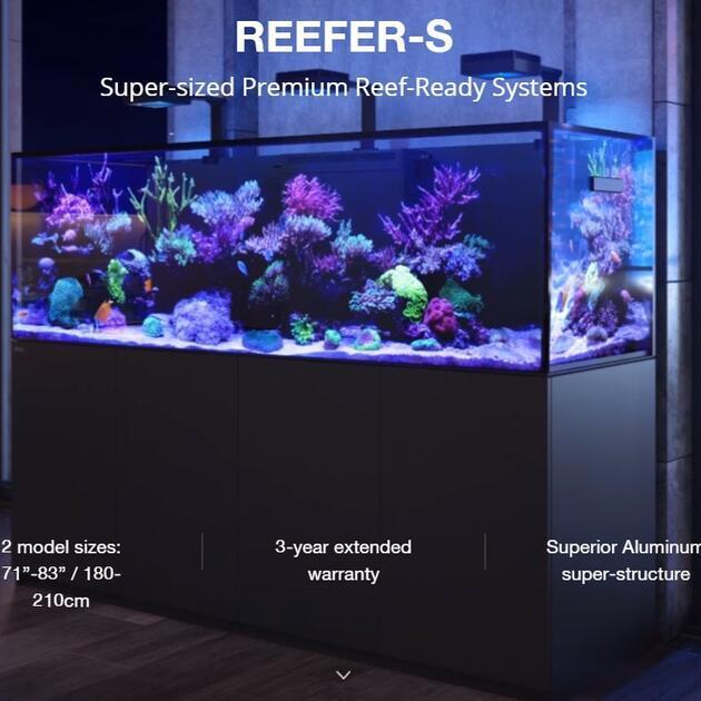 Red Sea Reefer-S 850 černá