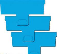 Aquablade P náhradní čepel na akrylátová akvária 3 ks