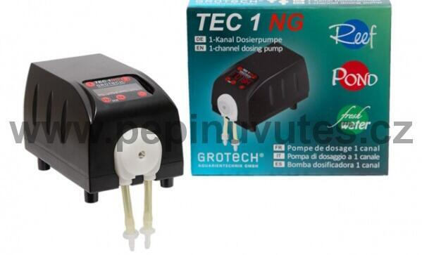 Grotech TEC 1 NG 1-kanálové dávkovací čerpadlo - 1