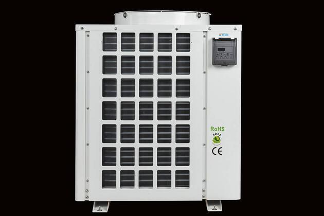 Tepelné čerpadlo TECO TK 8K pro chlazení a ohřívání akvárií
