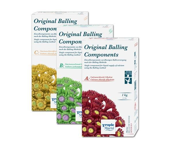 Tropic Marin Original Balling Components set, 3 x 1000g