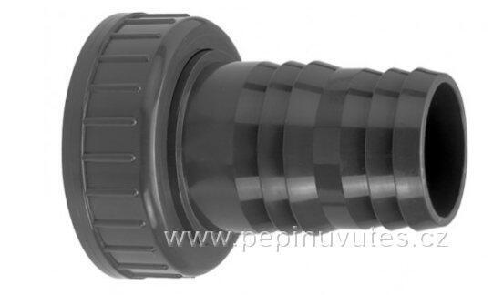 """PVC-U hadicový trn 16/18 s převlečnou maticí G3/4"""""""