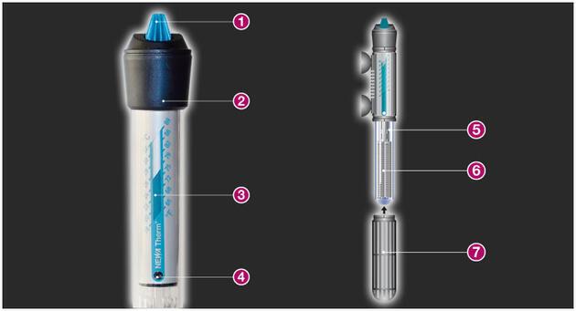 Akvarijní topítko s termostatem VISI-THERM 75 W - 1