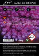 ATI- Carbo Ex Refill Pack. 3250 g Granulát 4 litry - 2/2