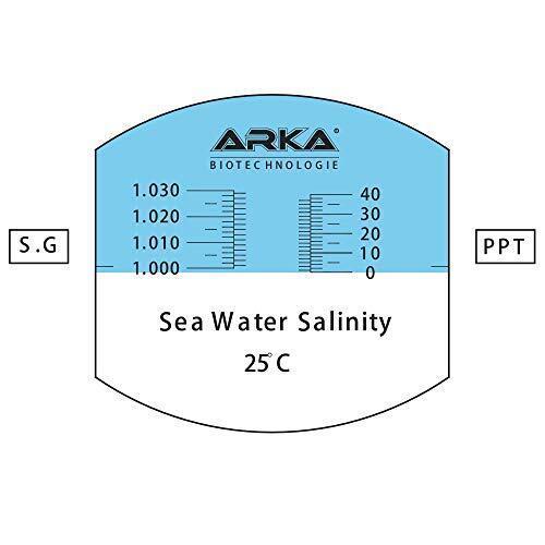 Arka Refraktometr Reef & Marine ATC - 2