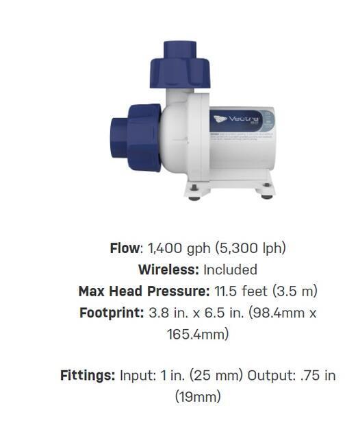 Ecotech Marine VECTRA S2- Mobius DC čerpadlo 5300 l/h - 2