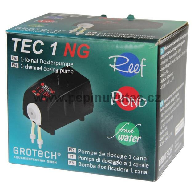 Grotech TEC 1 NG 1-kanálové dávkovací čerpadlo - 2